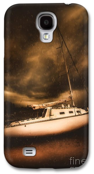 The Shipwreck And The Storm Galaxy S4 Case by Jorgo Photography - Wall Art Gallery