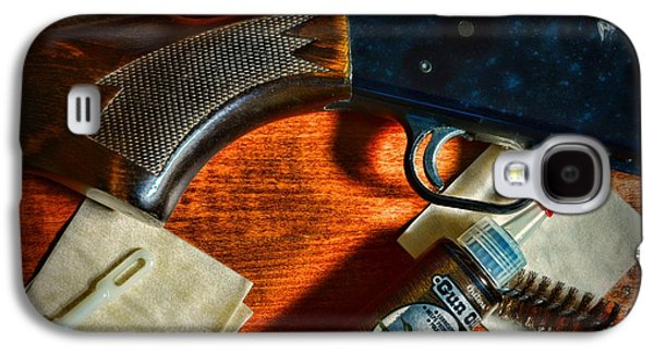 The Shotgun Galaxy S4 Case by Paul Ward