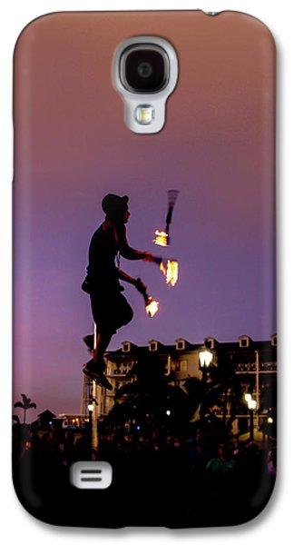 The Show Must Go On Galaxy S4 Case by Art Spectrum