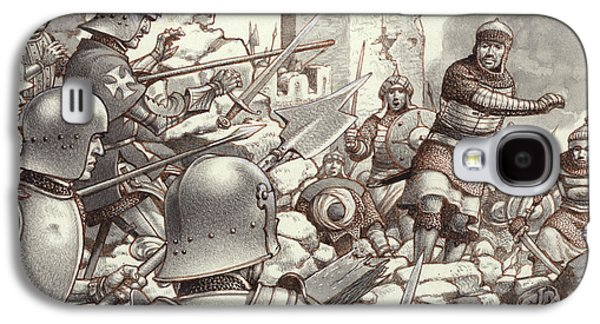 The Siege Of Rhodes Of 1522  Galaxy S4 Case by Pat Nicolle
