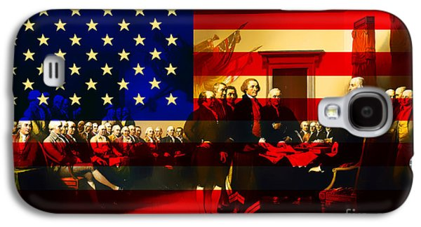 The Signing Of The United States Declaration Of Independence And Galaxy S4 Case