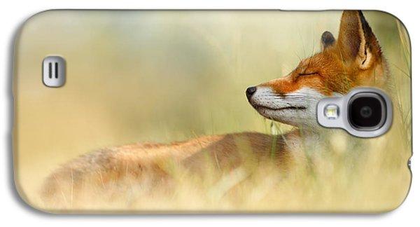 The Sleeping Beauty - Wild Red Fox Galaxy S4 Case