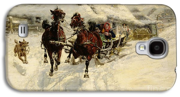 The Sleigh Ride Galaxy S4 Case