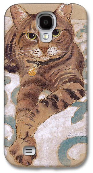The Smooth-talkin' Cat Galaxy S4 Case by Tracie Thompson