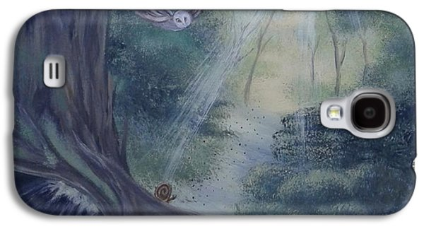 The Snail,the Owl,and The Fox Galaxy S4 Case