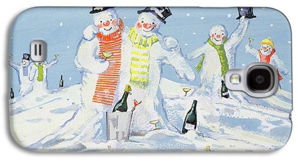 The Snowmen's Party Galaxy S4 Case