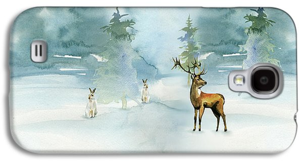 The Soft Arrival Of Winter Galaxy S4 Case by Colleen Taylor
