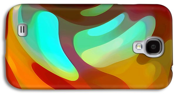 The Sound Of Color Galaxy S4 Case by Amy Vangsgard