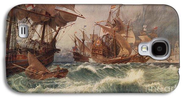 The Spanish Armada Galaxy S4 Case by English School