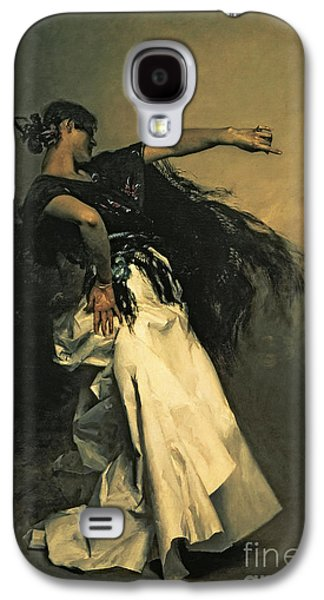 The Spanish Dancer Galaxy S4 Case by John Singer Sargent