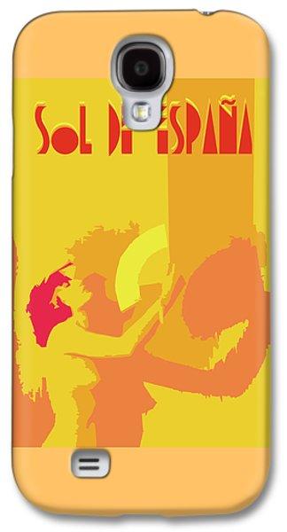 The Spanish Sun  Galaxy S4 Case by Joaquin Abella