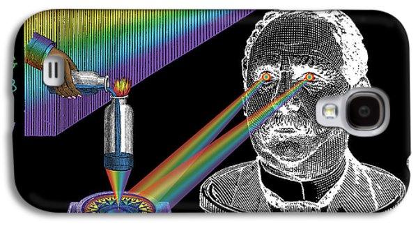 The Spectre Of Chromatopia Galaxy S4 Case by Eric Edelman