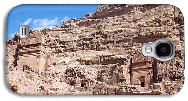 Petra Galaxy S4 Cases - The Stone City Galaxy S4 Case by Munir Alawi