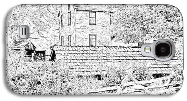 The Stone House At The Oliver Miller Homestead Galaxy S4 Case