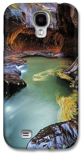 The Subway Colors Galaxy S4 Case by Edgars Erglis