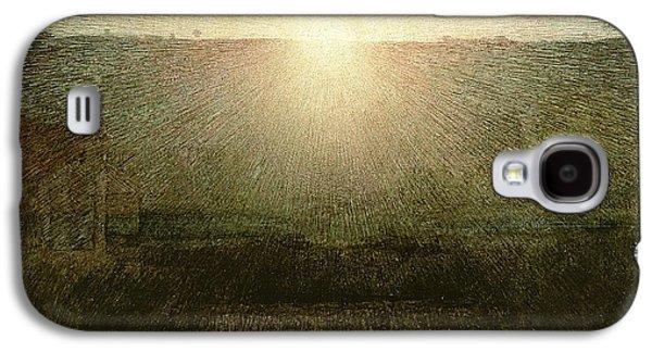 The Sun Galaxy S4 Case by Giuseppe Pellizza da Volpedo