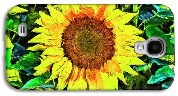 The Sunflower Galaxy S4 Case