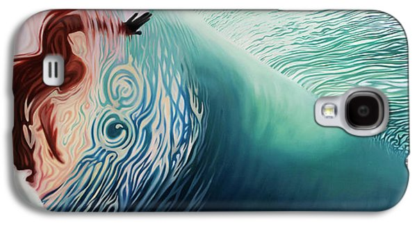 The Surface Galaxy S4 Case by Kelly Meagher