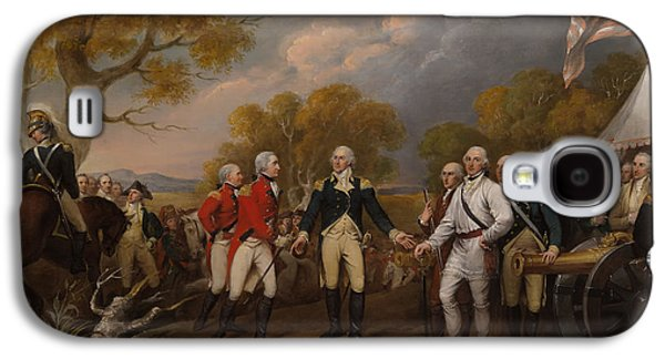 The Surrender Of General Burgoyne At Saratoga Galaxy S4 Case by Mountain Dreams