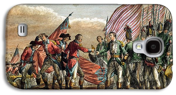 The Surrender Of General John Burgoyne At The Battle Of Saratoga Galaxy S4 Case