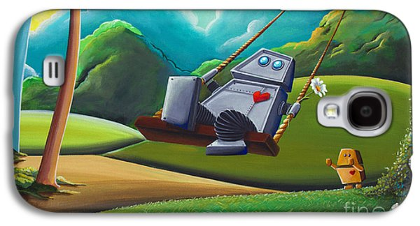 The Swing Galaxy S4 Case by Cindy Thornton