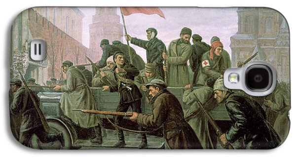 The Taking Of The Moscow Kremlin In 1917 Galaxy S4 Case