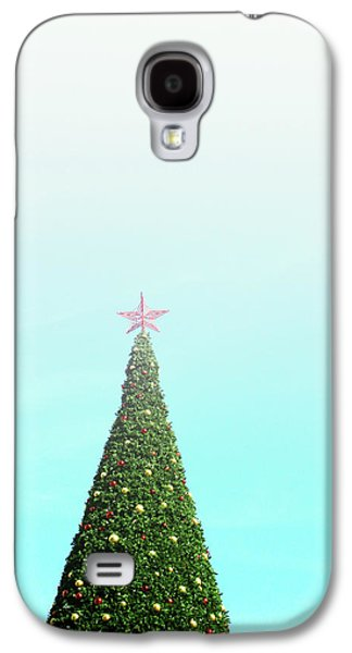 The Tallest Christmas Tee- Photograph By Linda Woods Galaxy S4 Case by Linda Woods