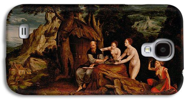 The Temptation Of Saint Anthony  Galaxy S4 Case by Cornelis Massys