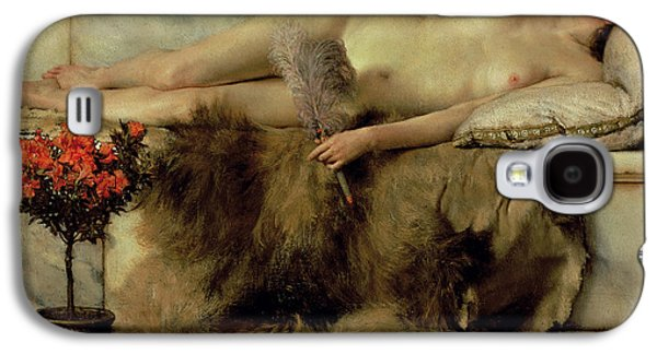 The Tepidarium Galaxy S4 Case by Sir Lawrence Alma-Tadema