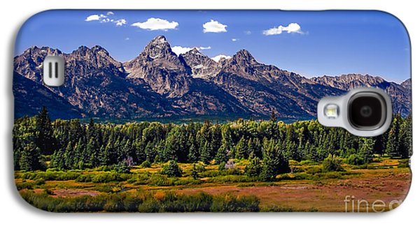Outlook Photographs Galaxy S4 Cases - The Tetons II Galaxy S4 Case by Robert Bales