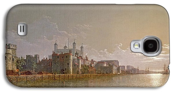 The Thames By Moonlight With Traitors' Gate And The Tower Of London Galaxy S4 Case