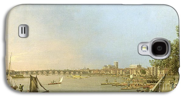 The Thames From The Terrace Of Somerset House Galaxy S4 Case by Giovanni Antonio Canaletto