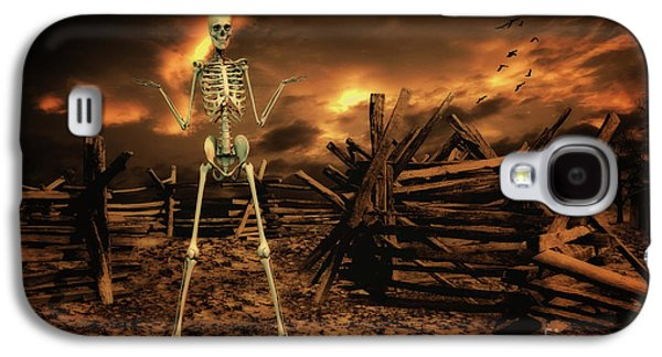 Crow Galaxy S4 Case - The Theatre Of War by Smart Aviation