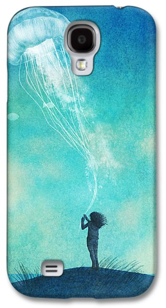 Beach Galaxy S4 Case - The Thing About Jellyfish by Eric Fan