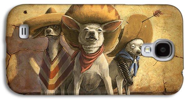 The Three Banditos Galaxy S4 Case by Sean ODaniels