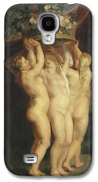 The Three Graces Galaxy S4 Case by Rubens