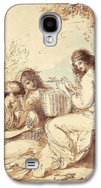 The Three Sisters  Galaxy S4 Case by Benjamin West