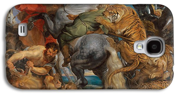 The Tiger Hunt Galaxy S4 Case by Peter Paul