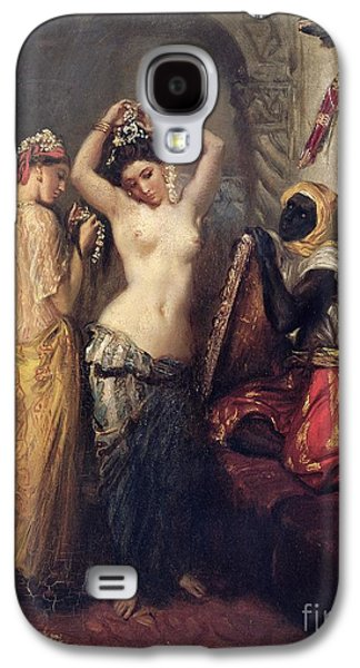 The Toilet In The Seraglio Galaxy S4 Case by Theodore Chasseriau
