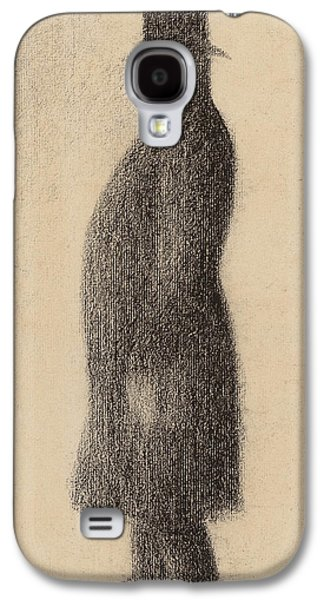 The Top Hat Galaxy S4 Case by Georges Pierre Seurat