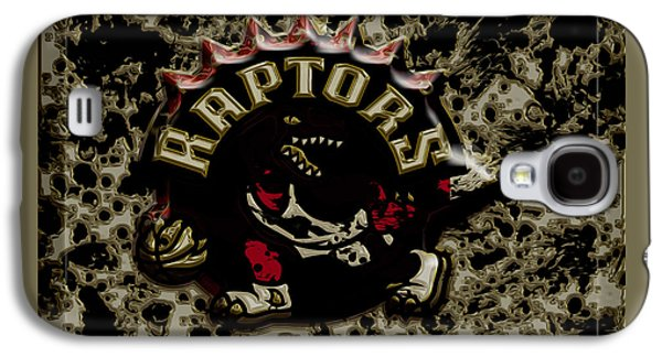 The Toronto Raptors 1a Galaxy S4 Case by Brian Reaves
