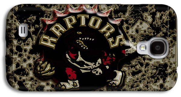 The Toronto Raptors 1c Galaxy S4 Case by Brian Reaves