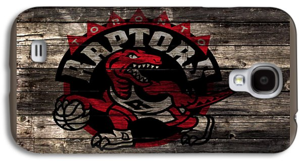 The Toronto Raptors 2a Galaxy S4 Case by Brian Reaves