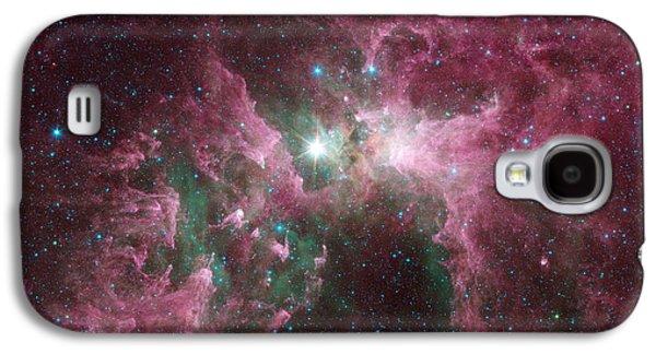 The Tortured Clouds Of Eta Carinae Galaxy S4 Case by Nasa