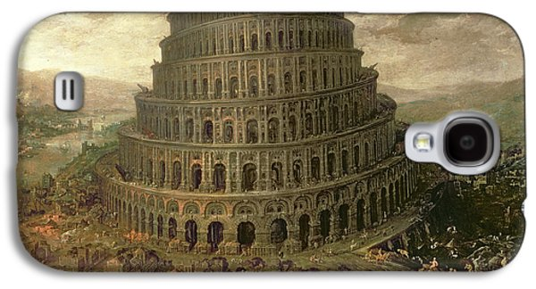 The Tower Of Babel Galaxy S4 Case by Tobias Verhaecht