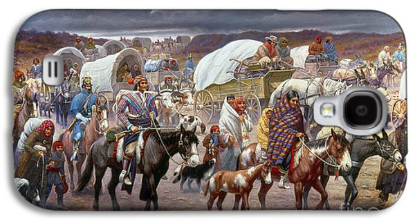 The Trail Of Tears Galaxy S4 Case by Granger