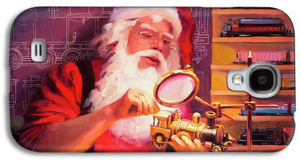 Elf Galaxy S4 Case - The Trainmaster by Steve Henderson