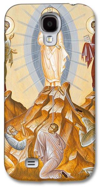 Julia Bridget Hayes Galaxy S4 Cases - The Transfiguration of Christ Galaxy S4 Case by Julia Bridget Hayes