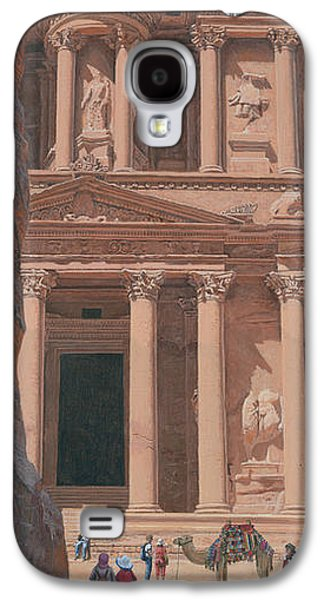 The Treasury Petra Galaxy S4 Case by Richard Harpum