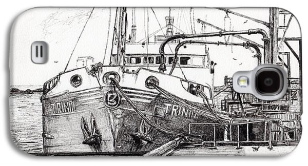 The Trinity  Port Ellen  Isle Of Islay Galaxy S4 Case by Vincent Alexander Booth